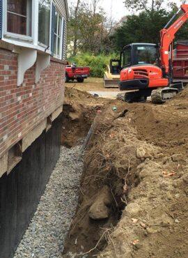 foundation drains