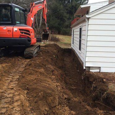 foundation drain andover ct