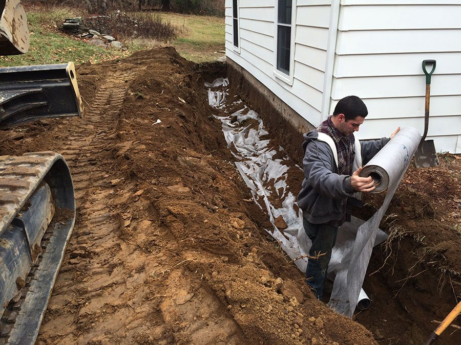 drainage solutions tolland county