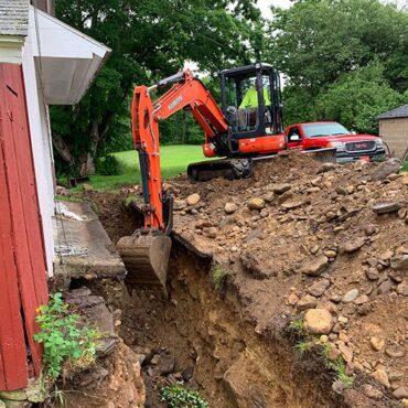 foundation drain north windham ct