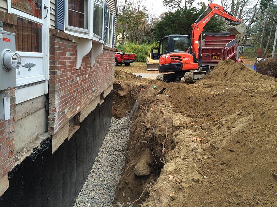 foundation drain