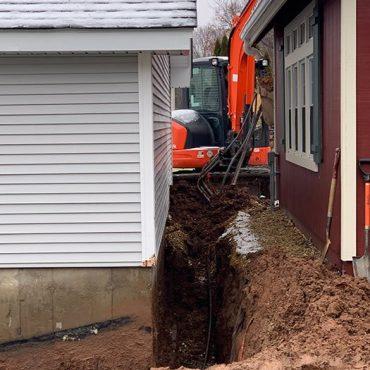 foundation drain ellington ct