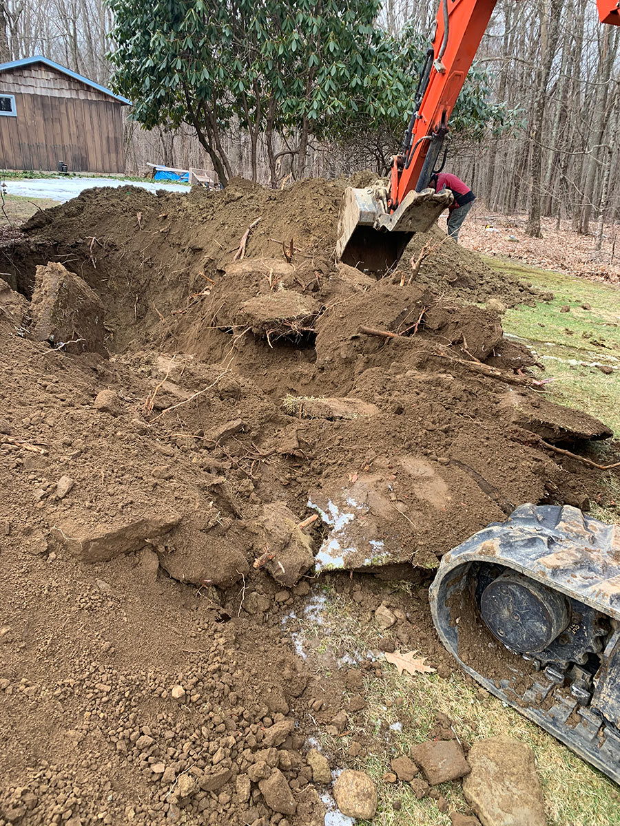 foundation drain replacement