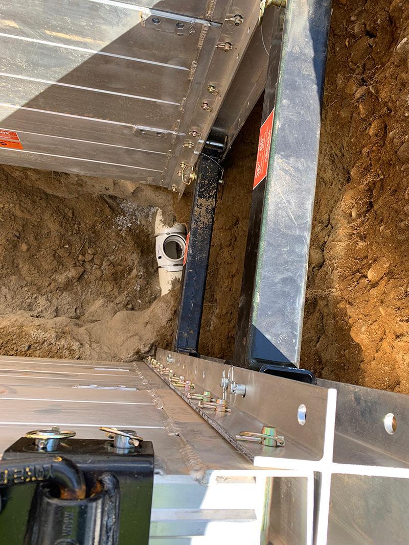 sewer main mansfield